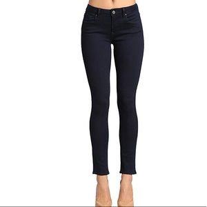 Mavi Alexa mid rise jeans. Dark blue, size 27